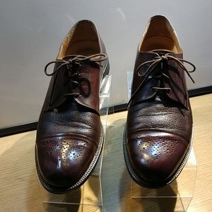 Johnson & Murphy Brown Cap Toe Oxford Shoes